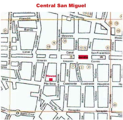 Proximity to the town of San Miguel