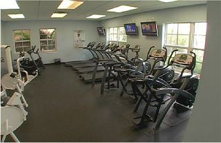 Ruskin townhome photo - The community fitness center