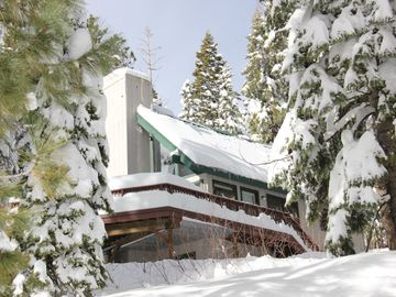 Bear Valley cabin rental - Winter Wonderland at our cabin.