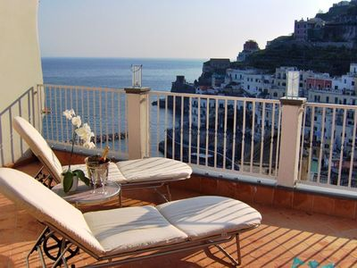 Atrani apartment rental - Greeen House terrace