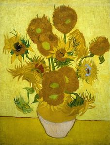 Sunflowers of Van Gogh