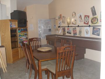 Game Room and Dining Table