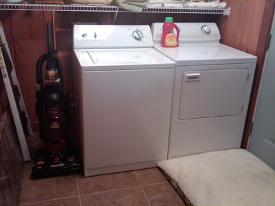 Gatlinburg cabin rental - Washer and dryer
