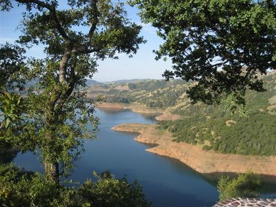New Melones Lake view from Villa