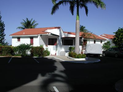 Rio Mar villa rental - Front of Villa.