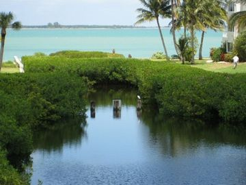Sanibel Island condo rental - view from deck