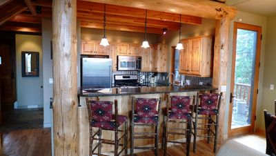 Rustic hardwood heated floors/Granite counter/stainless appliances/Great Views