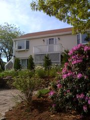 Flowers constantly in bloom! - Provincetown house vacation rental photo