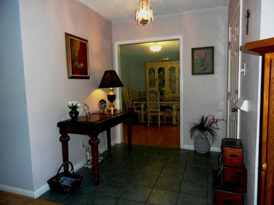 Corpus Christi house rental - The Entry Welcomes you Home every time!