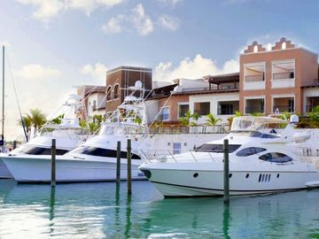 Aquamarina Buildings and The Cap Cana Marina