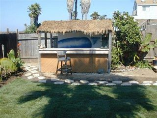 Ocean Beach house photo - Beach access & tiki bar in backyard!