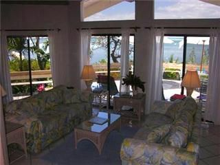 Elbow Cay and Hope Town estate photo - Living area with seaviews