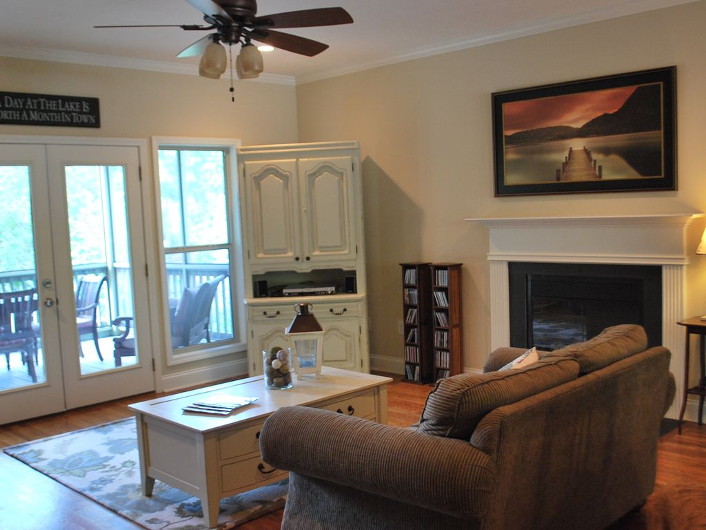 Comfortable Spacious Living Room With