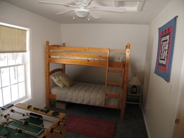 Second Bedroom (1 full bed and bunk beds)