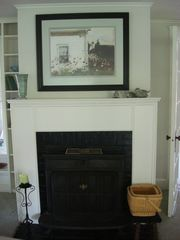 Southport estate photo - Livingroom fireplace