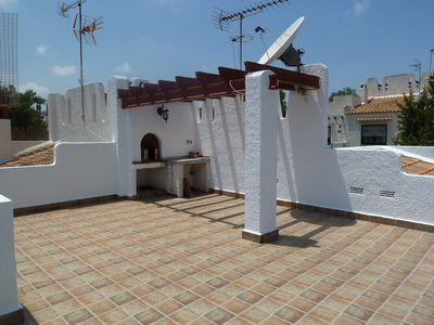Los Balcones villa rental - Roof top terrace