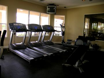 Workout room at clubouse