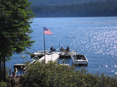 Spectacular West-Side Lake of the Woods Cabin - Feet from the Lake