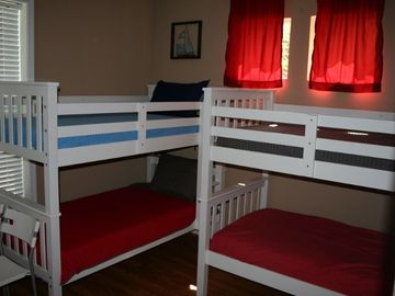 Bunk Room - Sleeps 4 and has a Wii Entertainment System