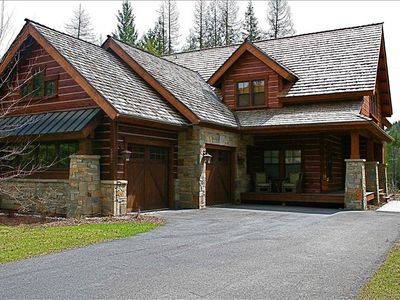 Large 3500 square foot custom home.