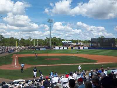 Spring Training in Nearby Port Charlotte; Home of the Tampa Bay Rays.