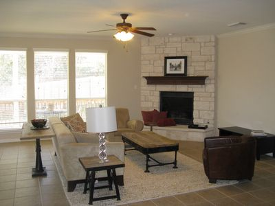 Lake Austin house rental - Living room