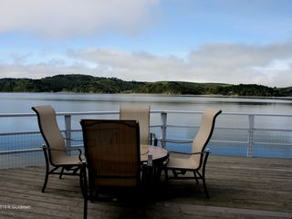 Marshall house photo - Built over pristine Tomales Bay with incomparable Pt Reyes Nat'l Park in view