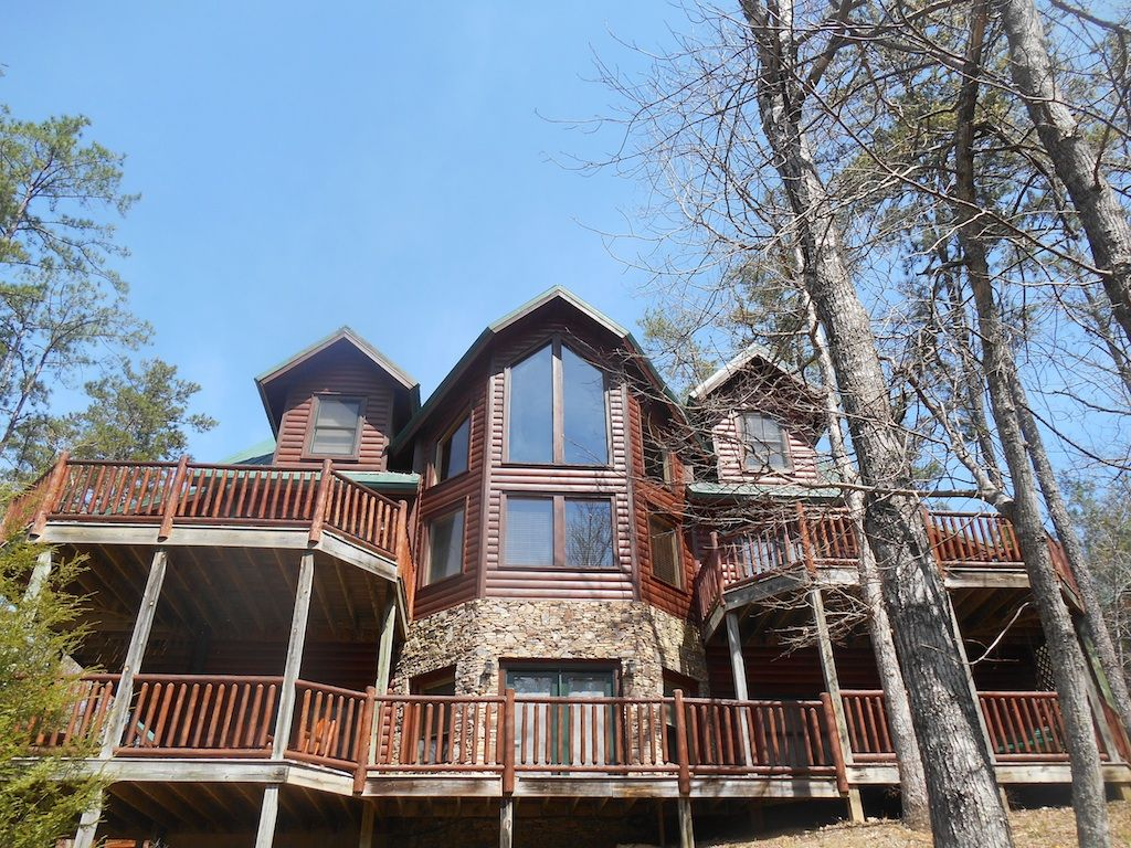 Cabin Rental With Hottub Game Room And Movie Theater