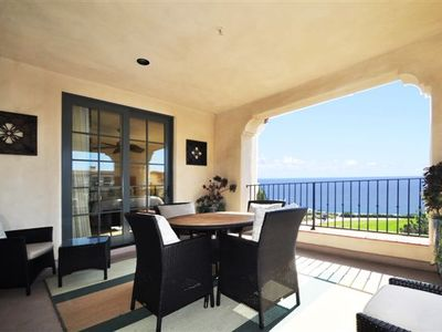 Relax or Entertain on Your Large Ocean View Covered Patio