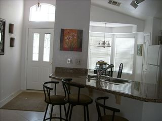Las Vegas house photo - Equipped kitchen & dining area.Open floor plan