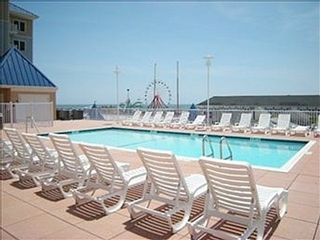 Belmont Towers Ocean City condo photo - Poolside