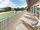Deck - Lounge chairs are perfectly positioned on the deck for catching the views.