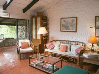 Playa Flamingo cottage photo - Living room opens to large terrace