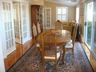Barnstable estate photo - The Formal Dining Room ! Bright and Elegant !