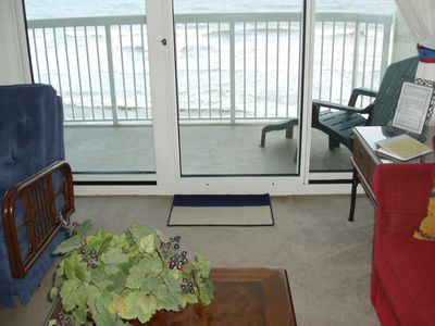 View of Ocean from Living Room