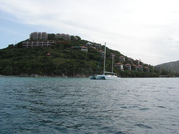 Point Pleasant resort as seen from Water Bay