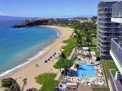 Enjoy The Whaler's Premier Location on Ka'anapali's MAIN Beach