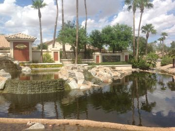Sun City West house rental - Country Club Parkway Entrance from W. Union Hills Dr.