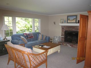 Wellfleet house photo - Living room with HDTV
