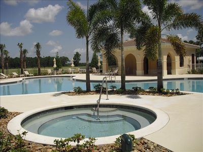Palazzo Condo guests have their own private pool/spa. 50 yards from the unit.