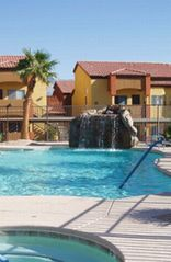 Mesquite condo photo - Swimming Pool with Waterfall and Whirlpool/Sauna