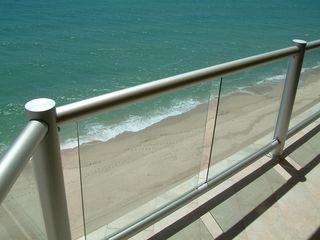 Puerto Penasco condo photo - At high tide, the ocean is literally right beneath you...