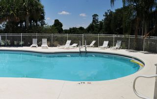 Sun Lake condo photo - Sun tan by the beautiful pool!