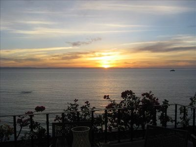 The famous La Paz sunset, right from your bedroom window!