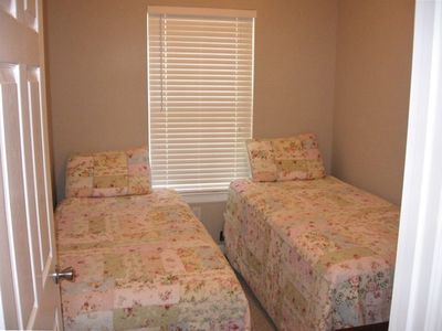 Third room includes 2 twin beds