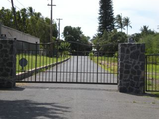 Kihei house photo - Your own Private Electronic Gate To Beachfront House.