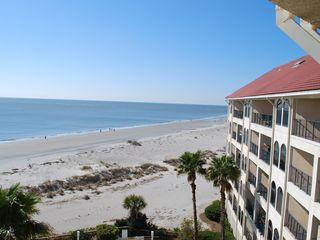 Wild Dunes condo photo - Looking to Right off Balcony!