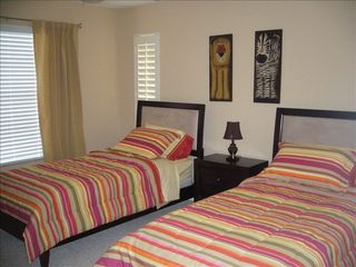 Vanderbilt Beach house photo - Main Floor Bedroom - 2 Twin Size Beds