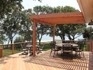 Canyon Lake house photo - Shade Arbor/Outdoor dining areas.