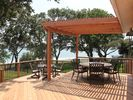 Shade Arbor/Outdoor dining areas. - Canyon Lake house vacation rental photo